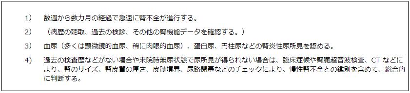 抗糸球体基底膜腎炎(グッドパスチャー(Goodpasture) 症候群)